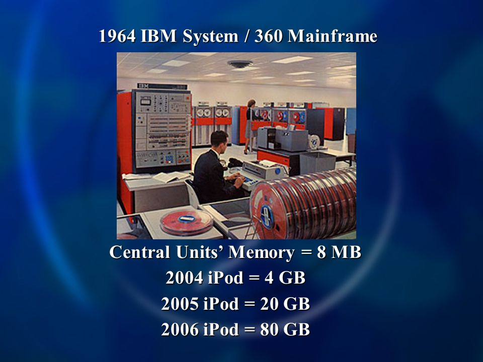 Central Units' Memory = 8 MB
