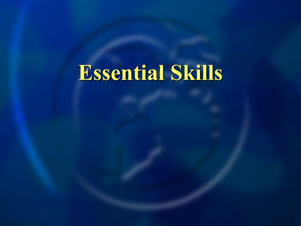 Essential Skills
