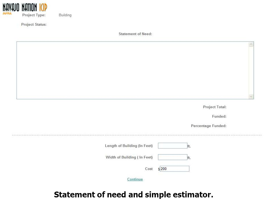 Statement of need and simple estimator.