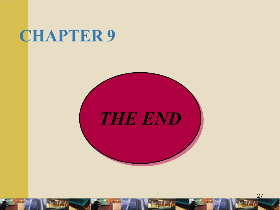 CHAPTER 9 THE END