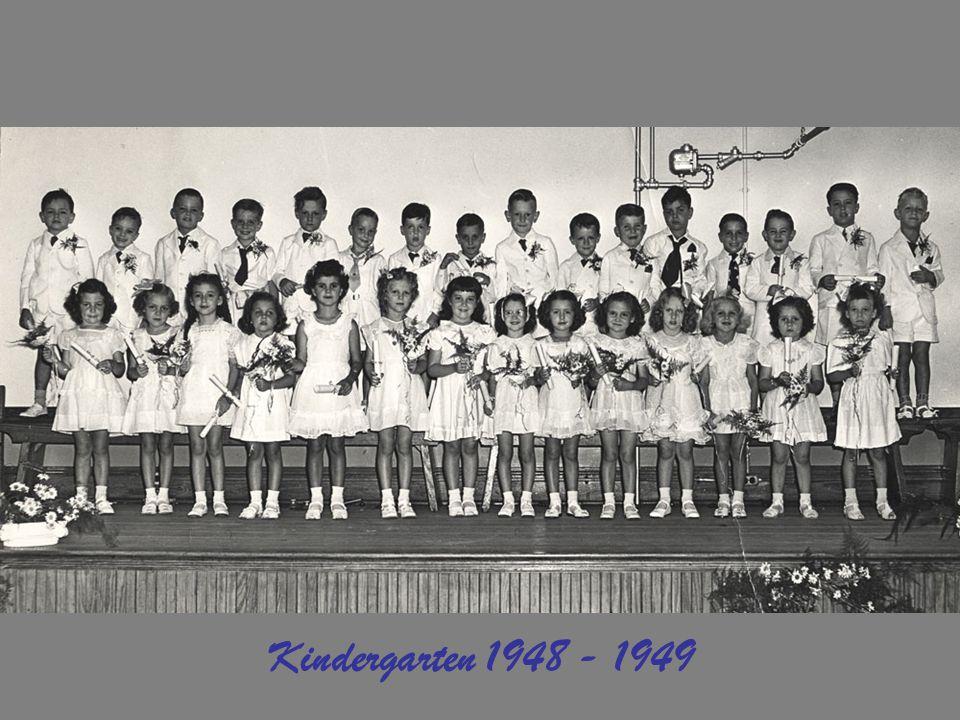 Kindergarten 1948 - 1949