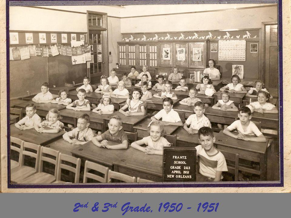 2nd & 3rd Grade, 1950 - 1951