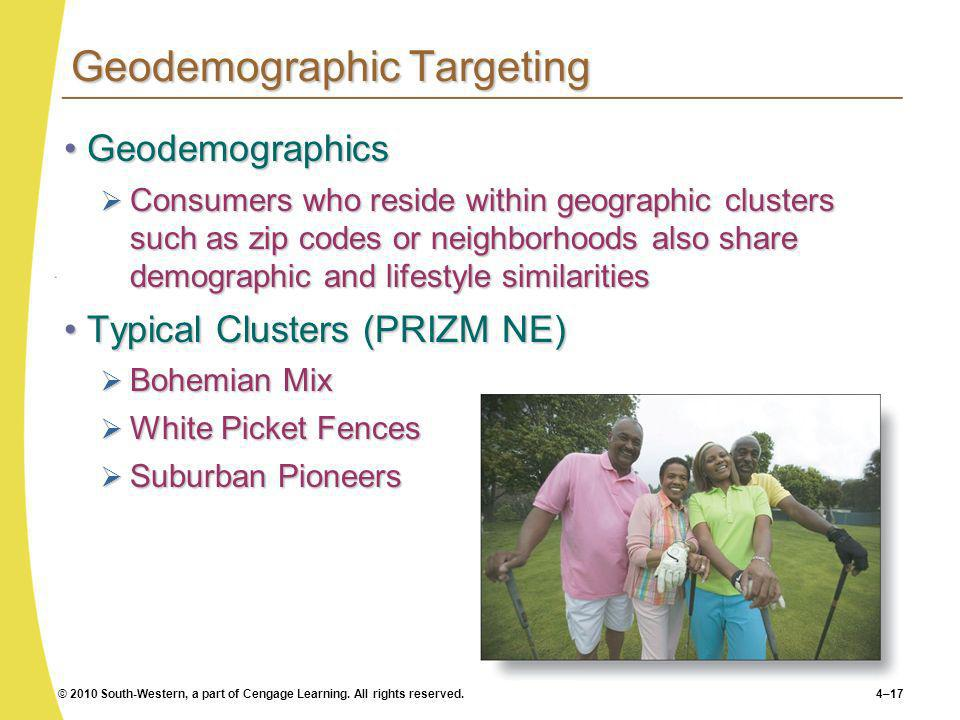 Geodemographic Targeting