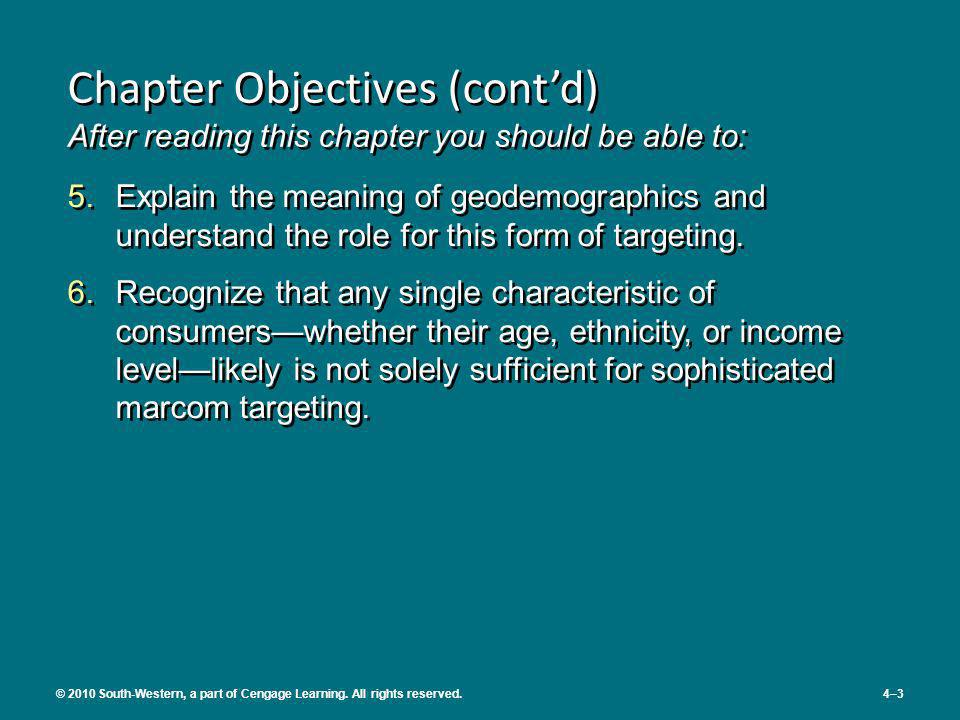 Chapter Objectives (cont'd) After reading this chapter you should be able to: