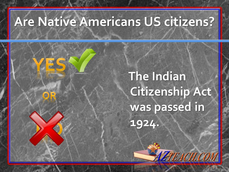 Are Native Americans US citizens
