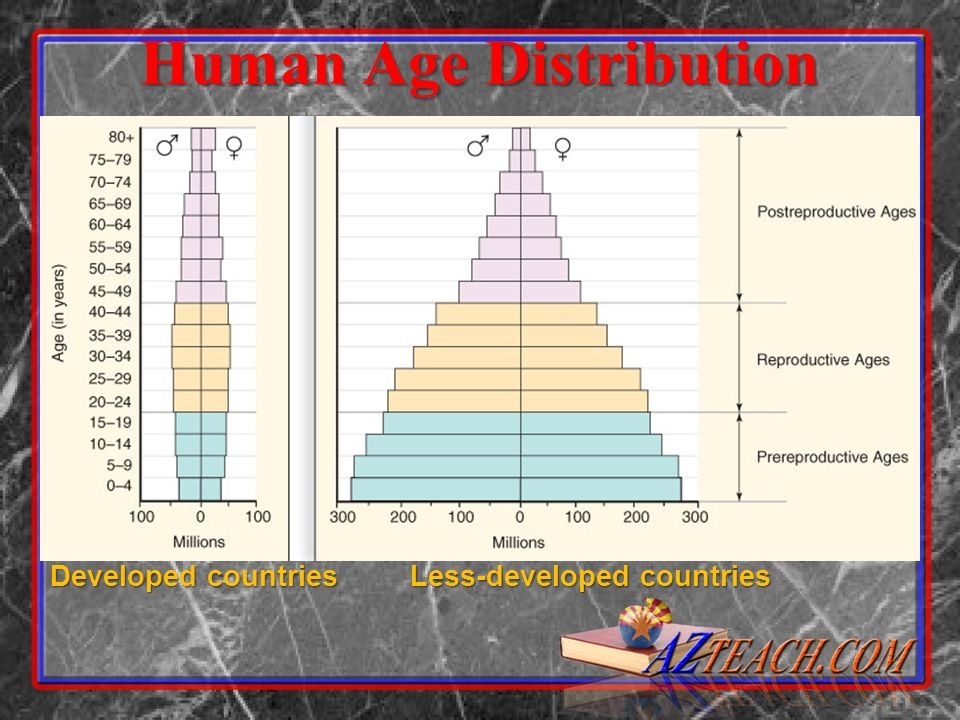 Human Age Distribution