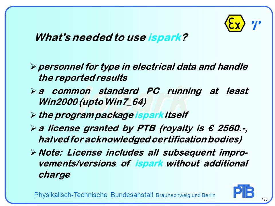 ispark i What s needed to use ispark