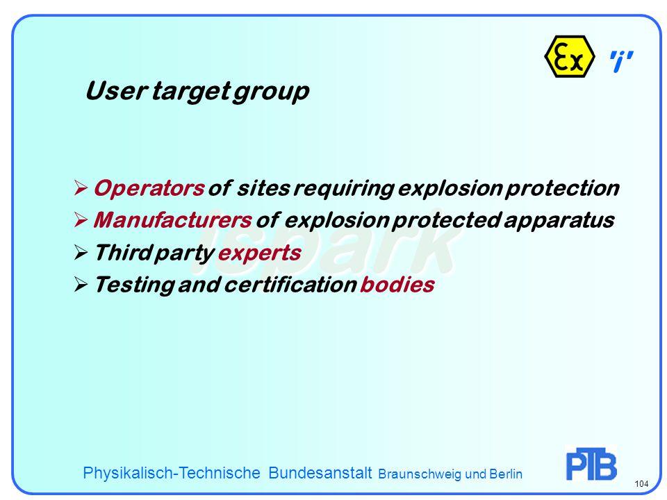 ispark i User target group
