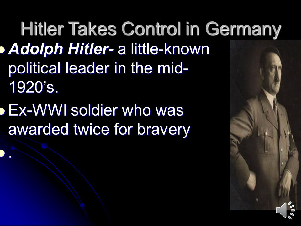 Hitler Takes Control in Germany