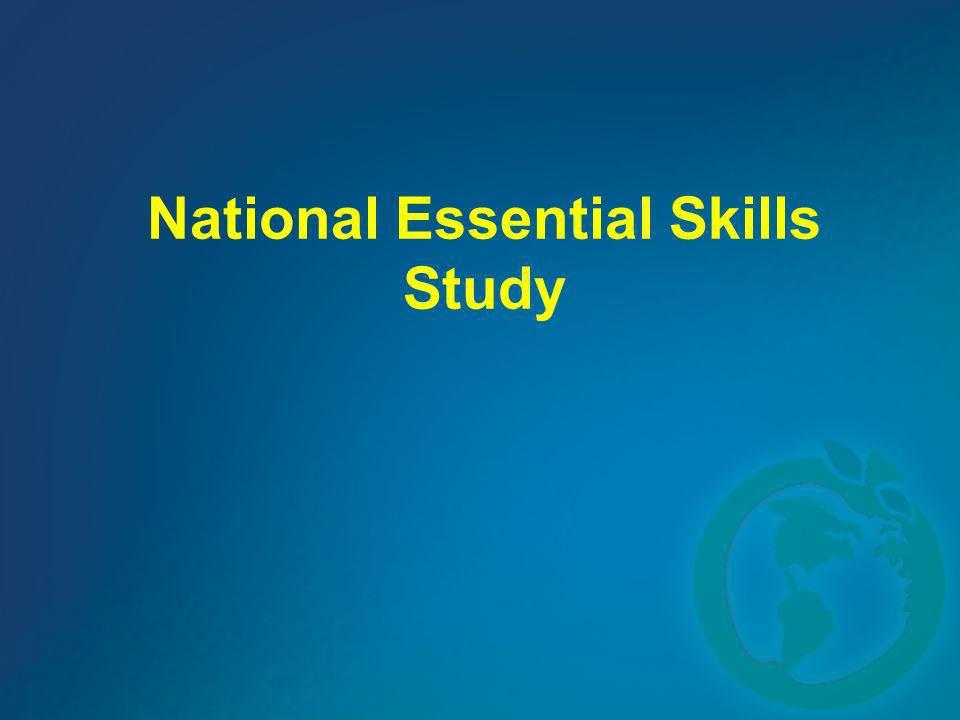 National Essential Skills Study