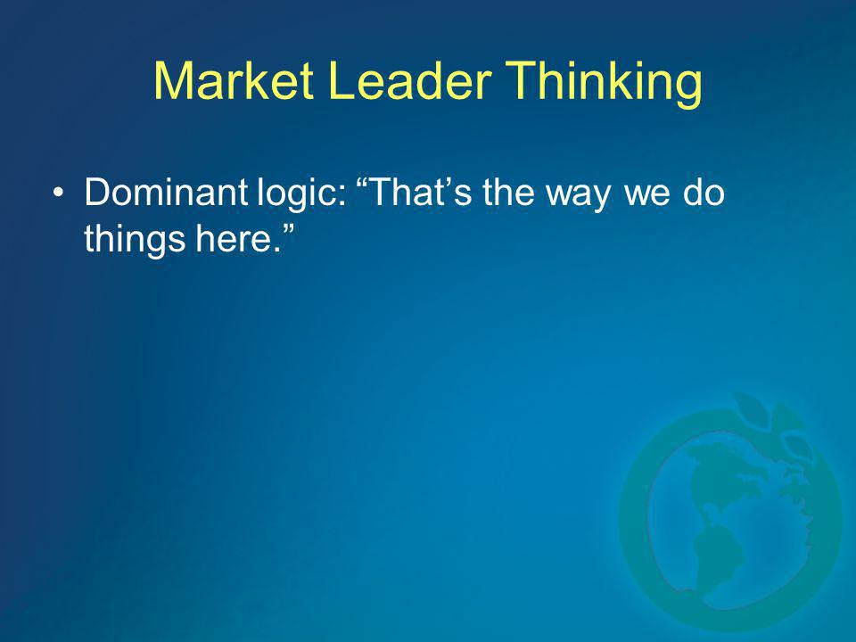 Market Leader Thinking