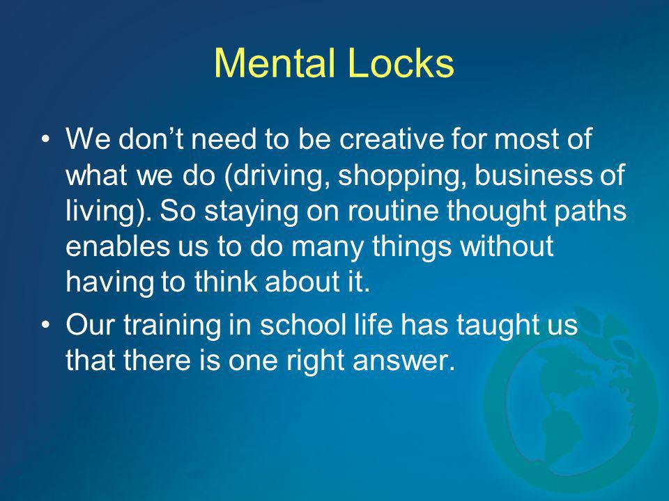 Mental Locks