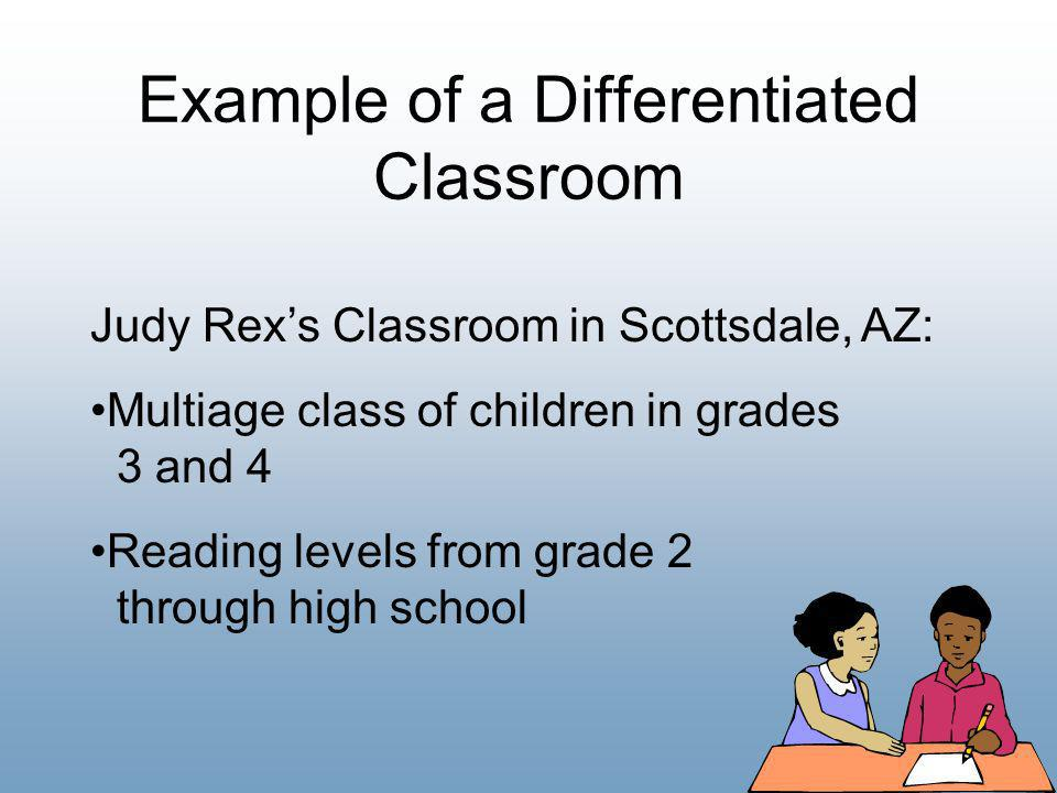 Example of a Differentiated Classroom