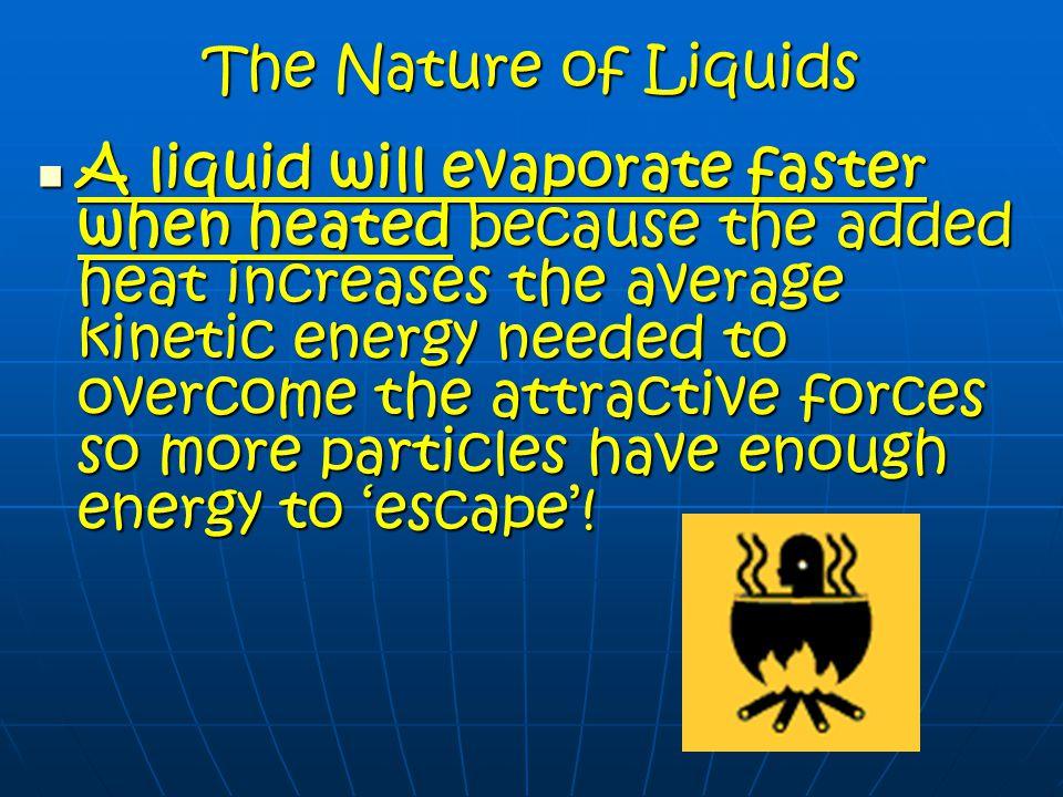 The Nature of Liquids