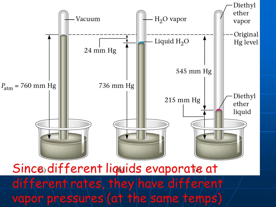 evaporation of different liquids pdf