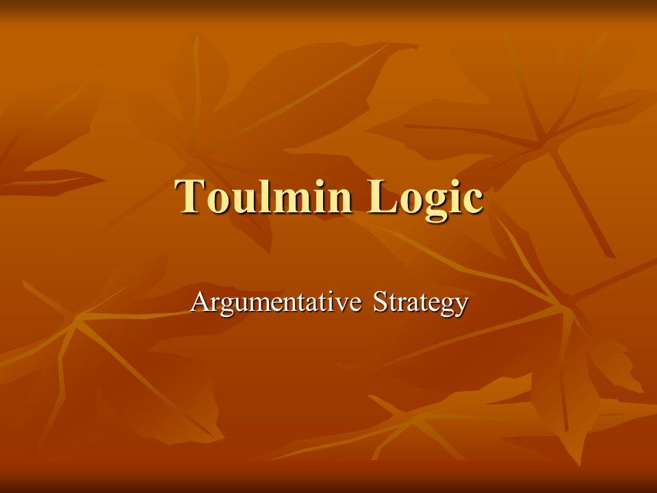 Argumentative Strategy