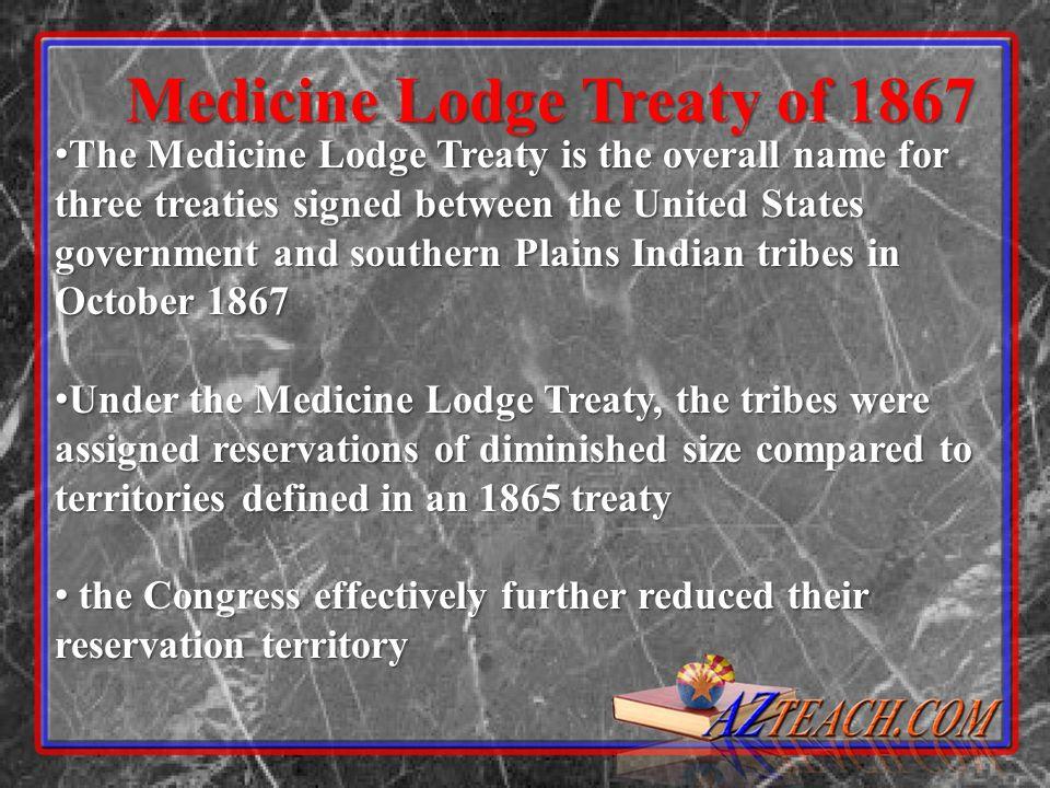 Medicine Lodge Treaty of 1867