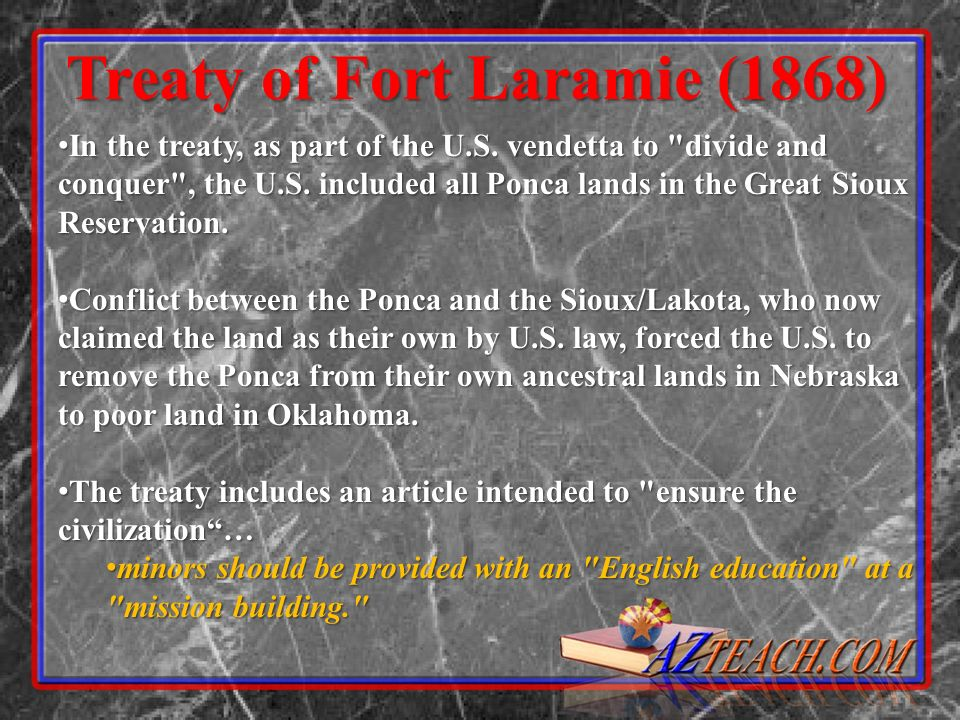 Treaty of Fort Laramie (1868)
