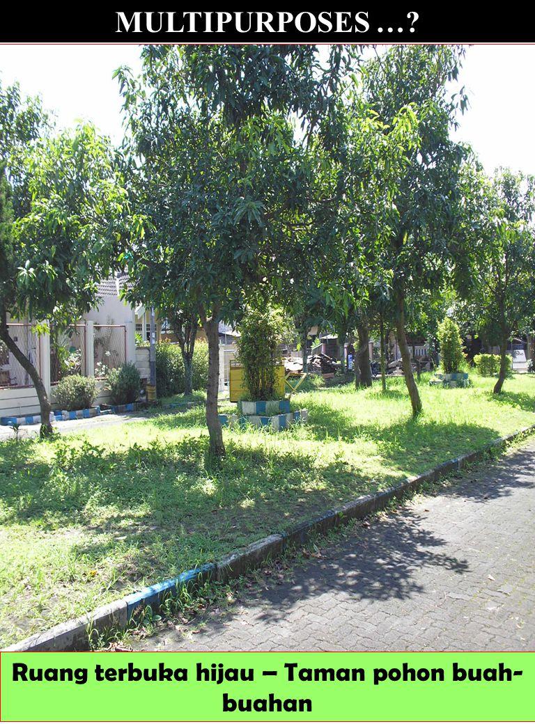 Ruang terbuka hijau – Taman pohon buah-buahan