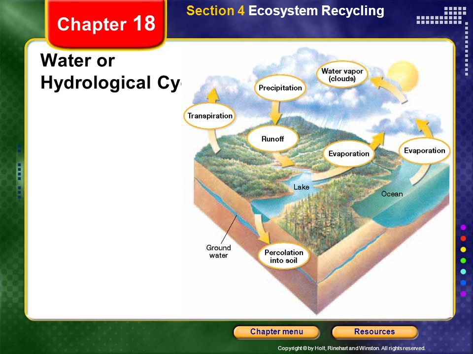 Water or Hydrological Cycle