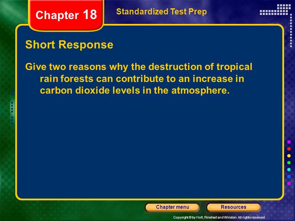 Chapter 18 Short Response