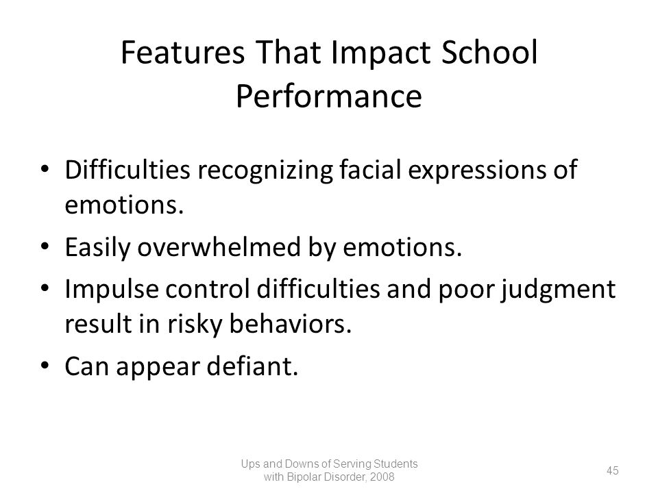 Features That Impact School Performance