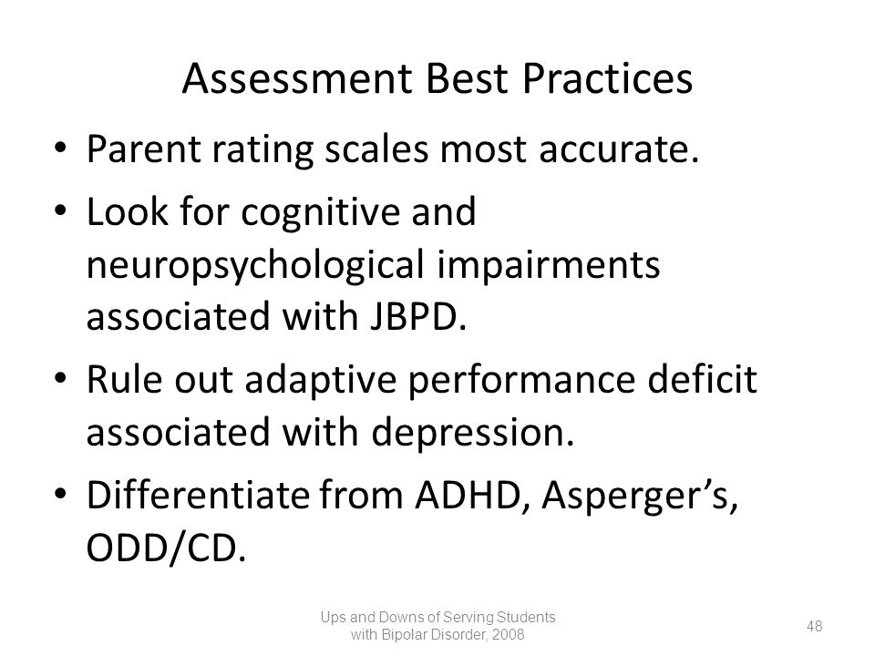 Assessment Best Practices