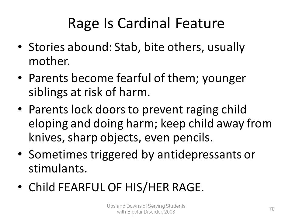Rage Is Cardinal Feature
