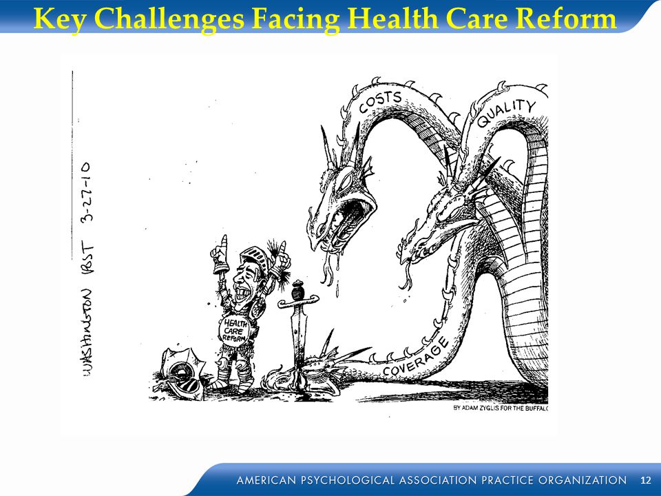Key Challenges Facing Health Care Reform