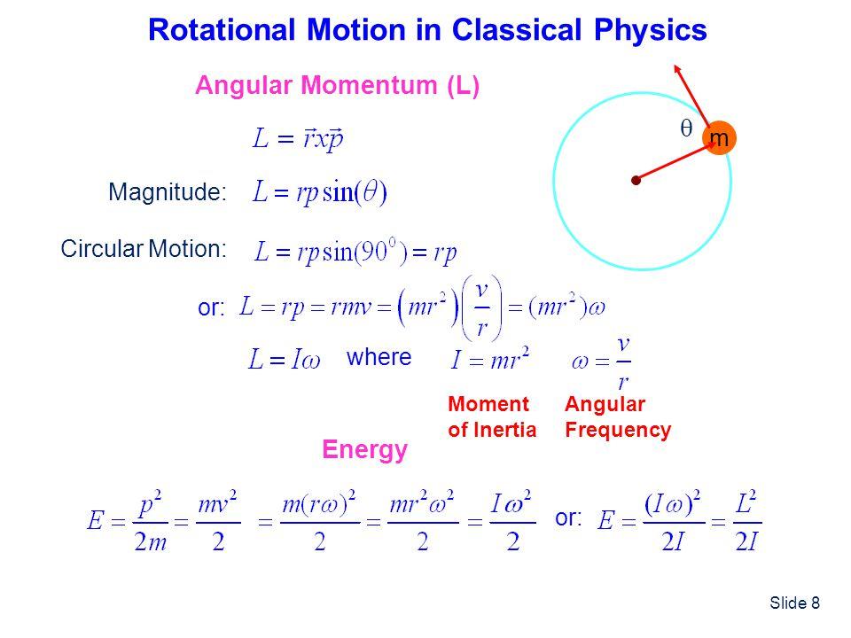 Rotational Motion in Classical Physics