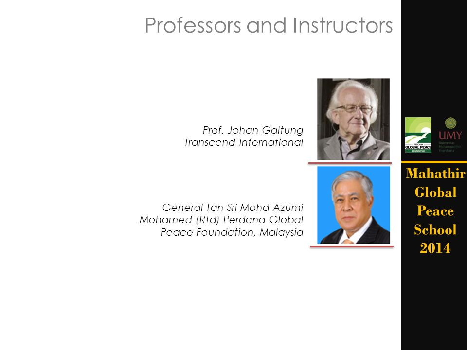 Professors and Instructors