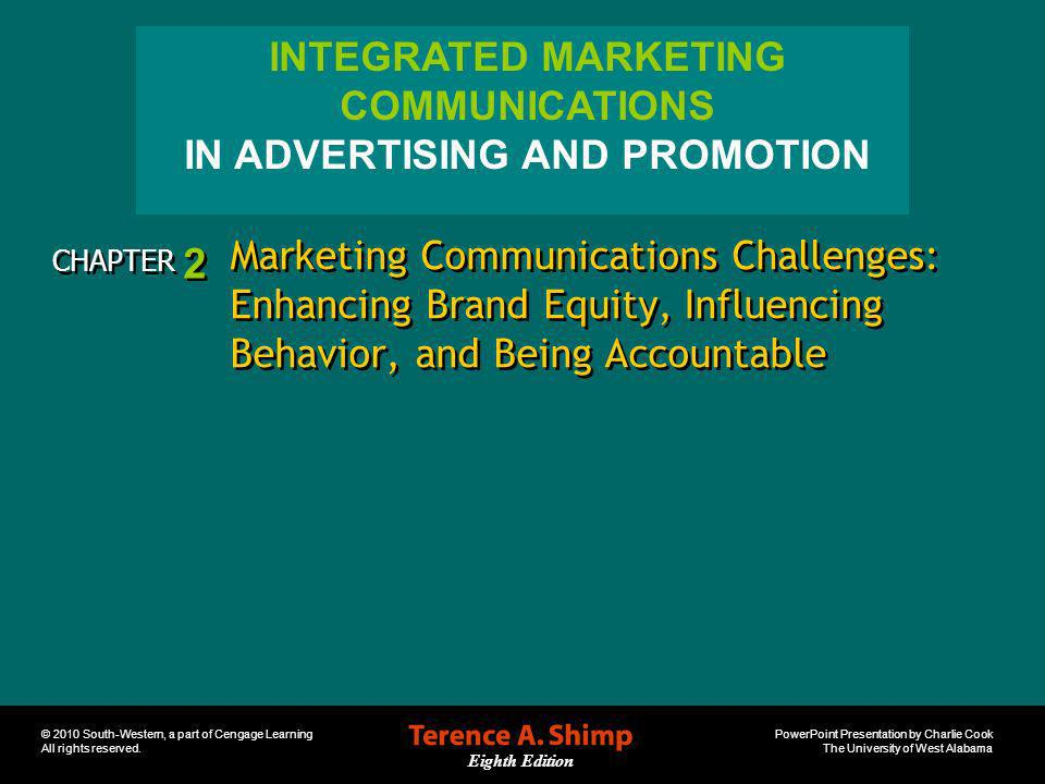 IN ADVERTISING AND PROMOTION