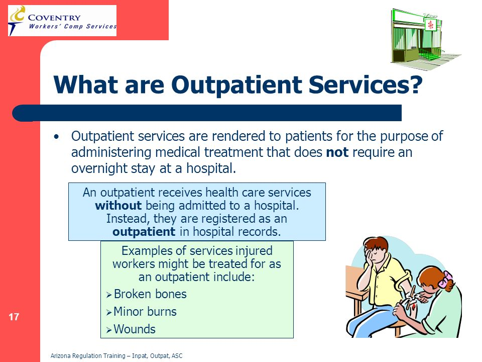 What are Outpatient Services