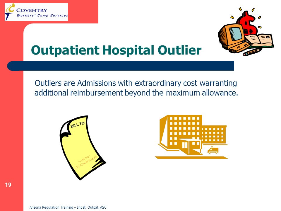 Outpatient Hospital Outlier