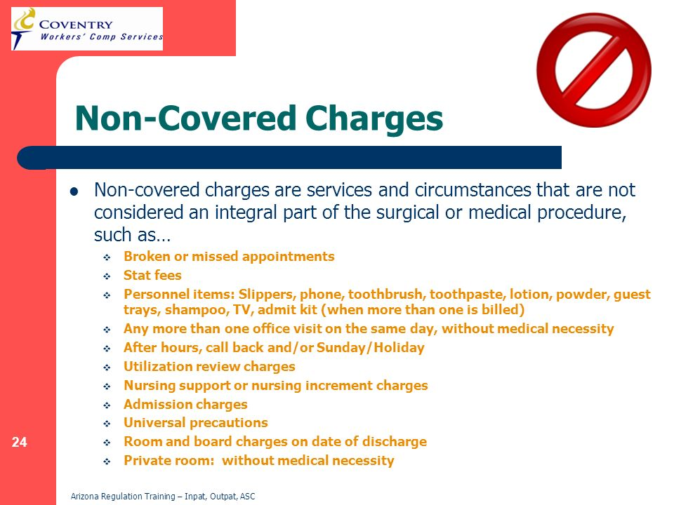 Non-Covered Charges