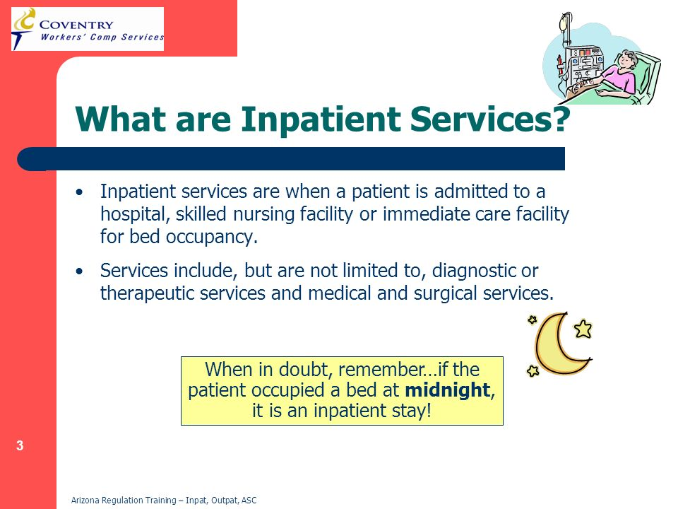 What are Inpatient Services