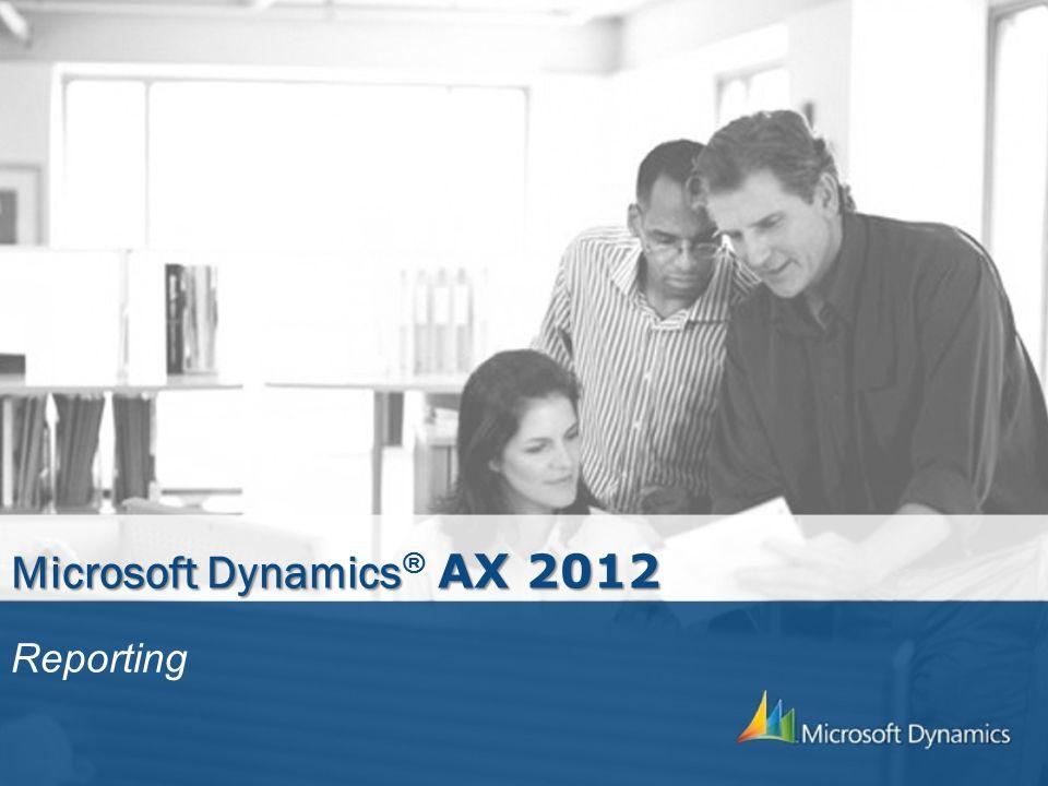 Microsoft Dynamics® AX 2012