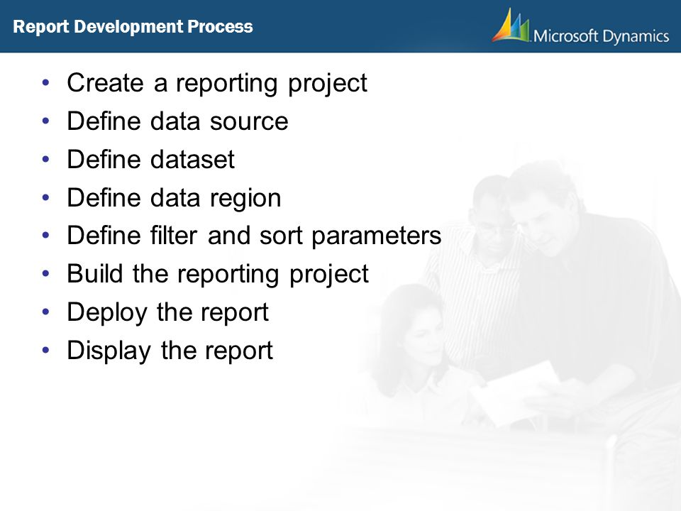 Report Development Process