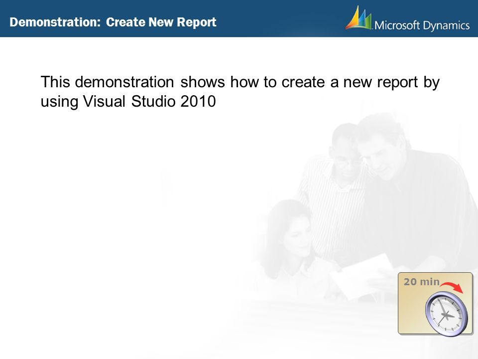 Demonstration: Create New Report