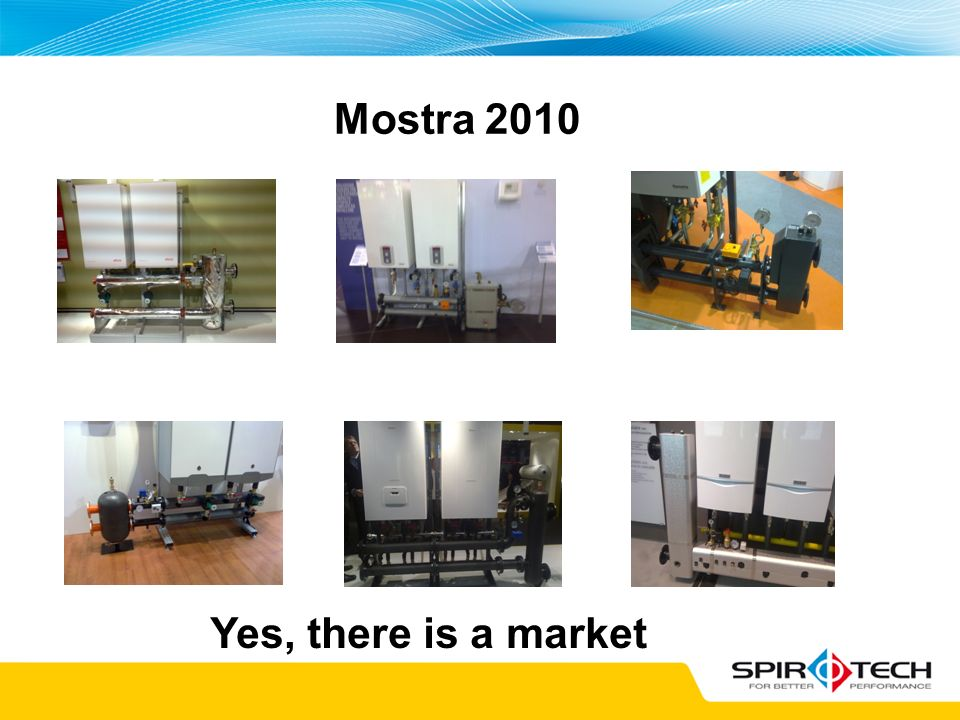 Mostra 2010 Yes, there is a market