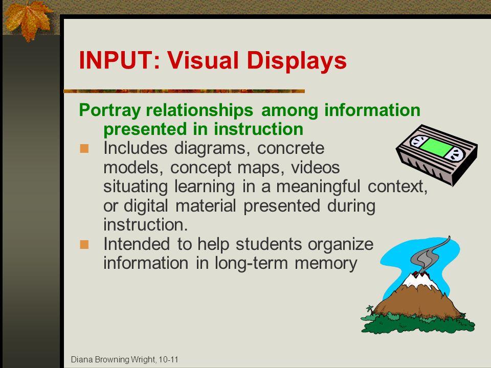 INPUT: Visual Displays