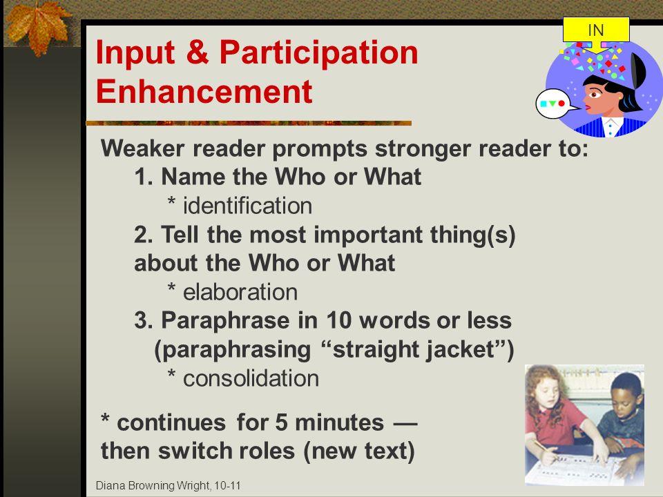 Input & Participation Enhancement