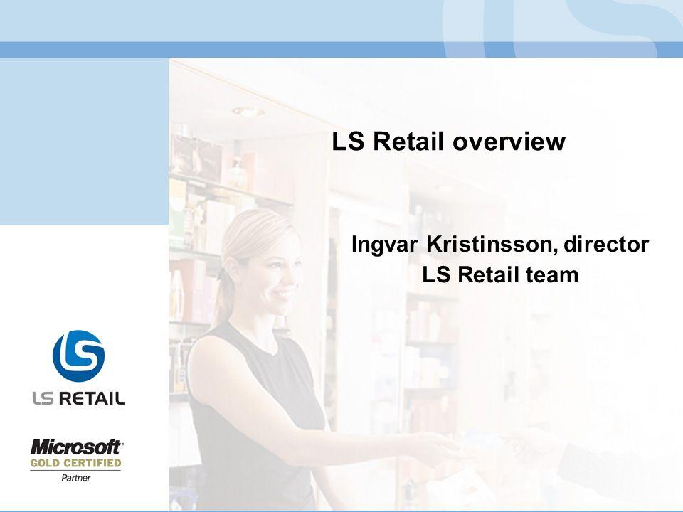 Ingvar Kristinsson, director LS Retail team