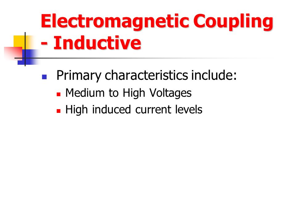 Electromagnetic Coupling - Inductive