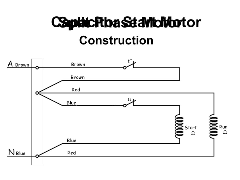 Split Phase Motor Capacitor Start Motor