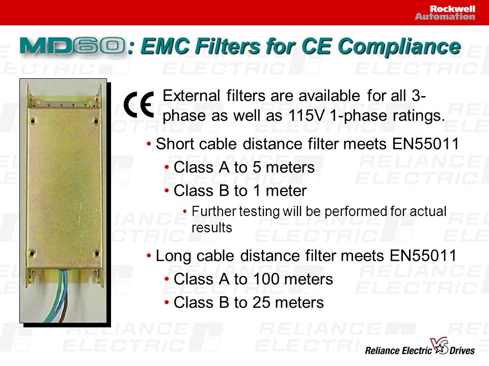 : EMC Filters for CE Compliance