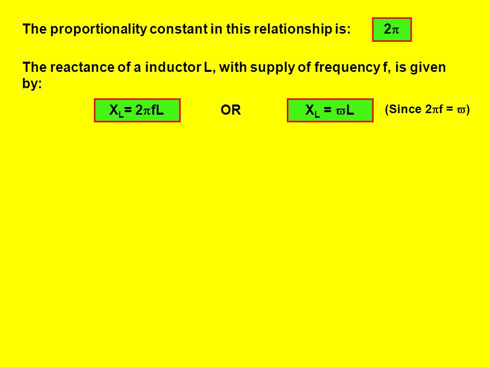 The proportionality constant in this relationship is: 2
