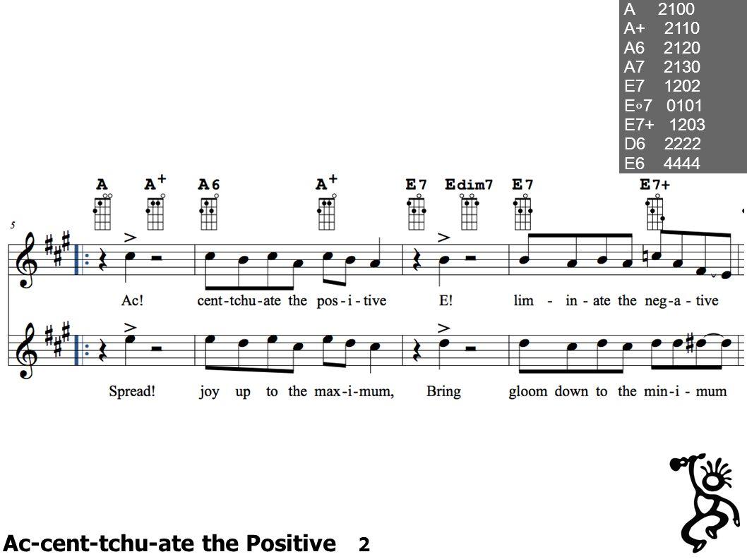 Ac-cent-tchu-ate the Positive 2