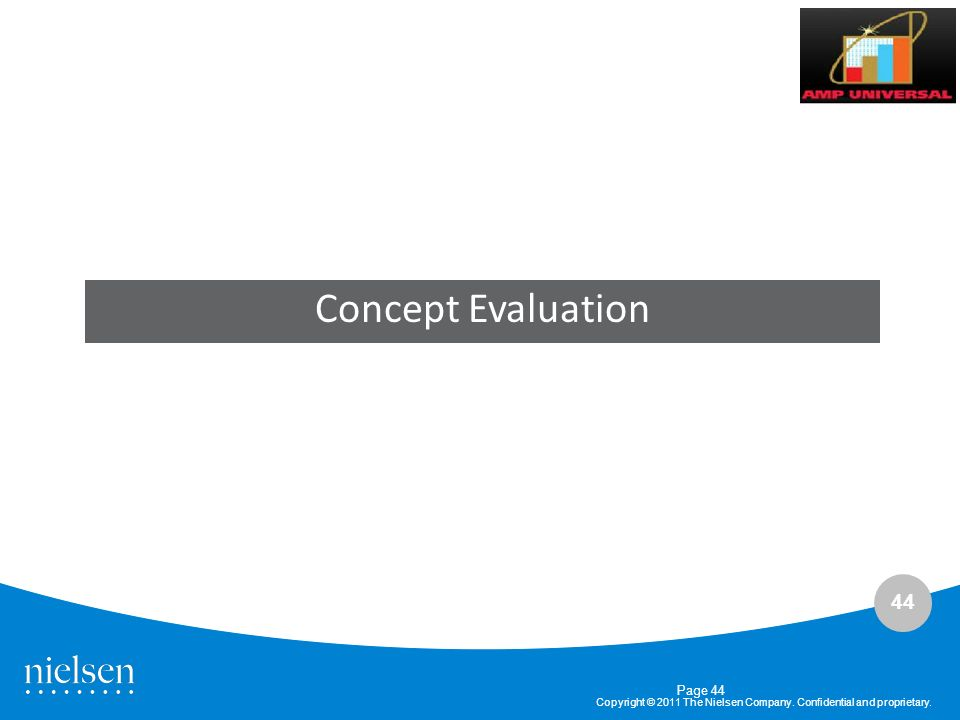Concept Evaluation Page 44