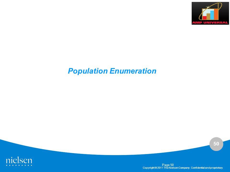 Population Enumeration